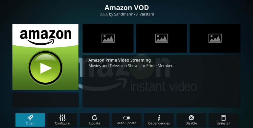Amazon Kodi dodaci
