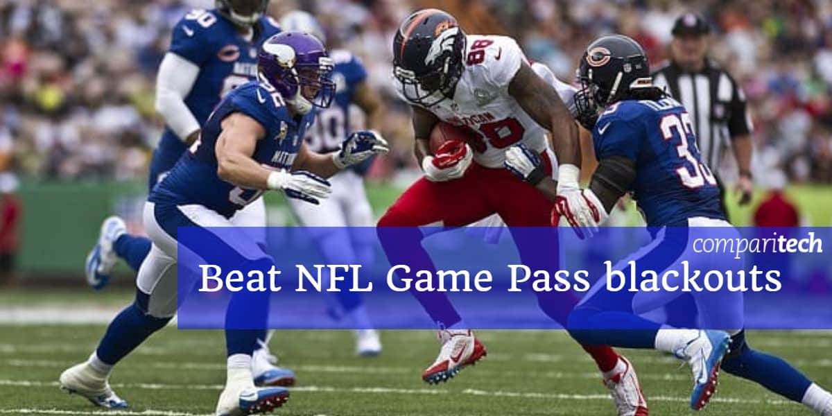 Beat NFL Game Pass áramszünetek