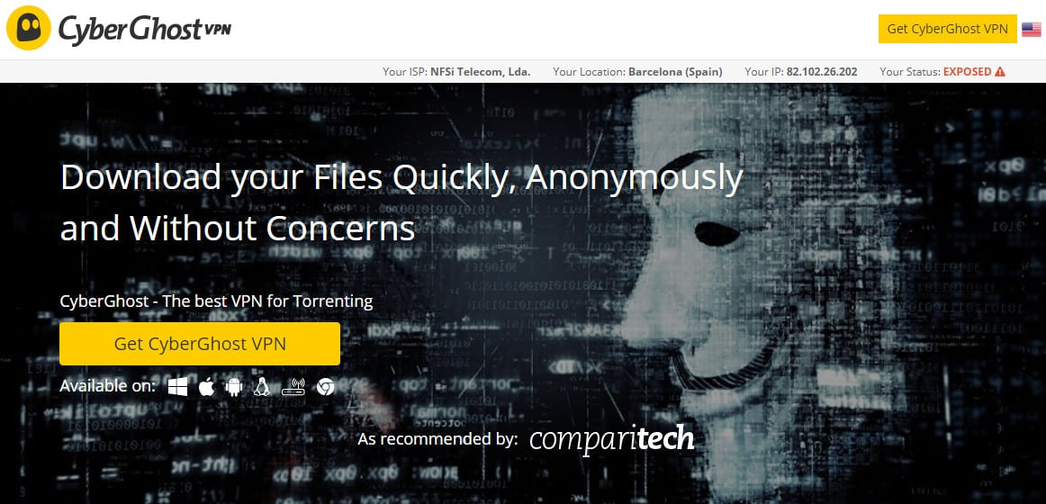 Cyberghost Torrenting