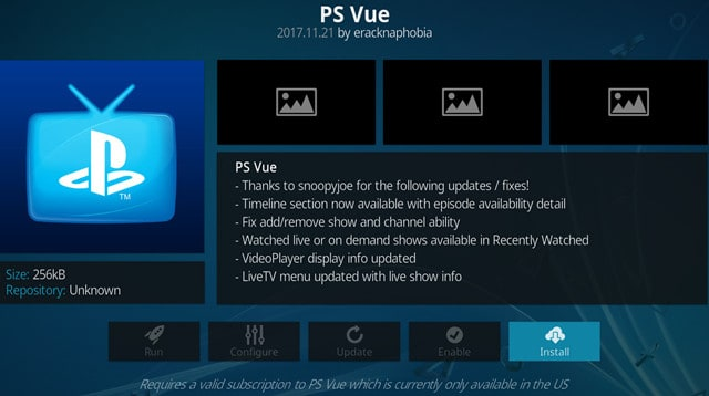 playstation vue super bowl 53 بدون کابل
