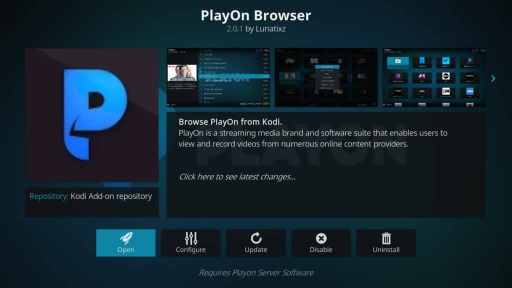 PlayOn مرورگر Kodi addon super bowl 53 بدون کابل
