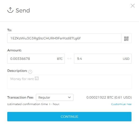 cum se configurează portofelul bitcoin