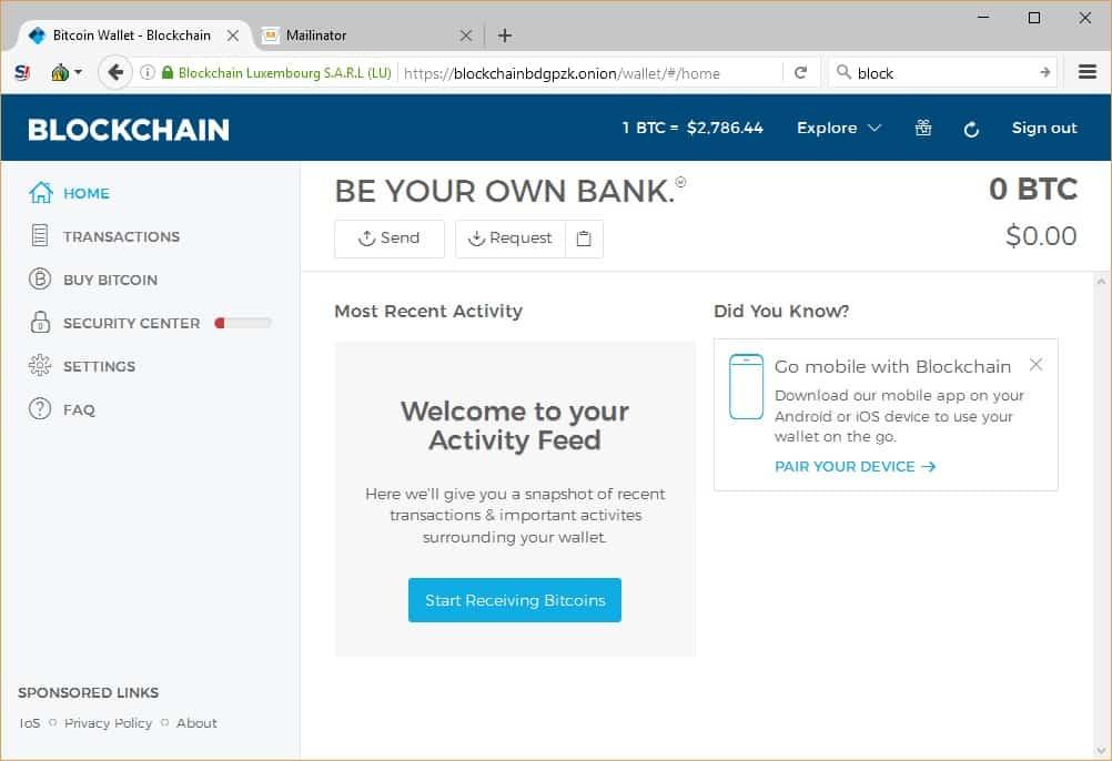 obțineți bitcoin direct în portofel)