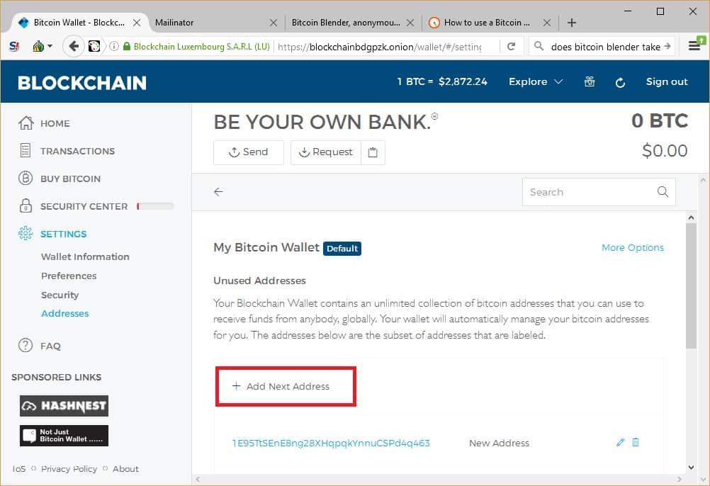 creați portofel anonim bitcoin