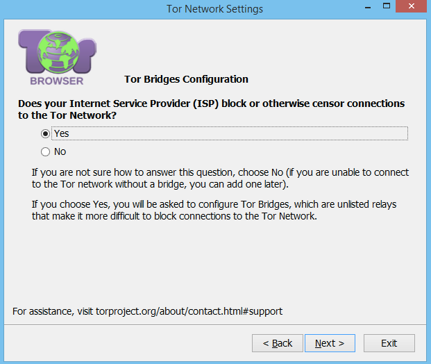 Windows Tor Bridge Proxy Настройка 1