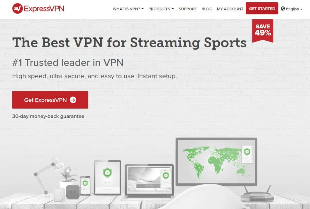 ExpressVPN-streaming-sport