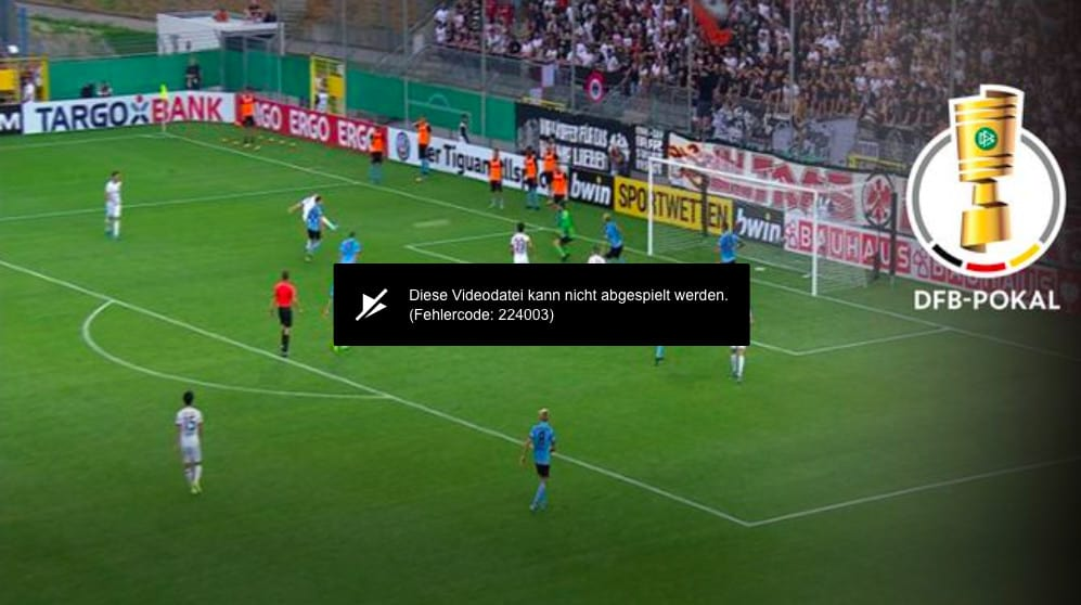 Eroare de streaming Sport1