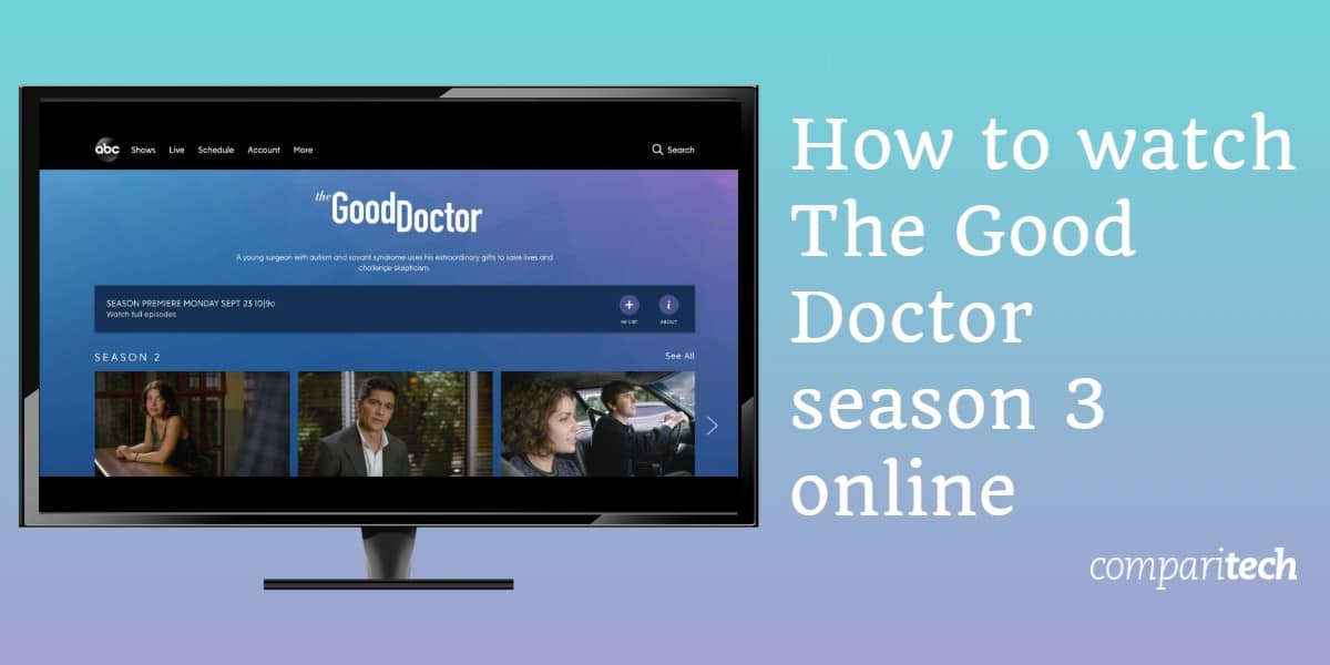 Kako gledati sezonu The Good Doctor 3