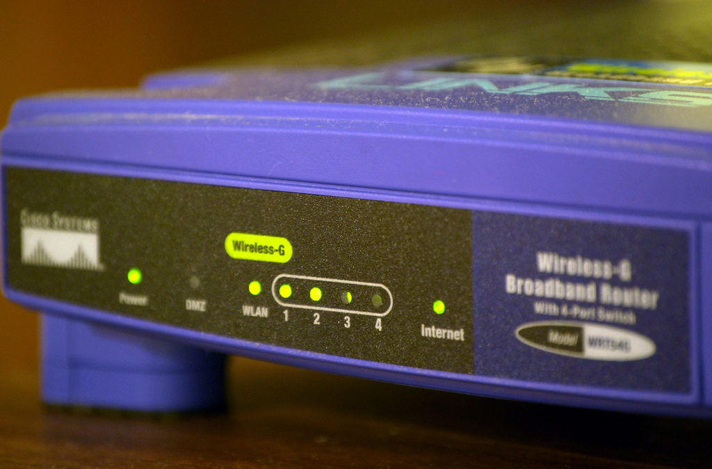 Routere Linksys WRT54G