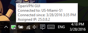 ironsocket openvpn