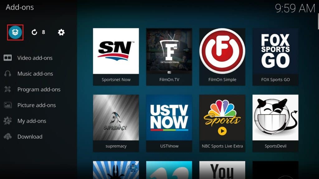 Sportsnet Now Kodi Tutorial