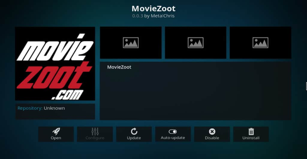 MovieZoot Kodi addon